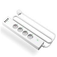 Meross Smart WiFi Power Strip 4 AC + 4 USB Ports - Inteligentná zásuvka