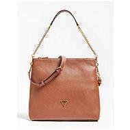 GUESS Destiny Strap Shoulder Bag - Cognac - Kabelka