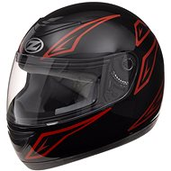 ZED K10 (čierna/červená, veľkosť L) - Prilba na motorku