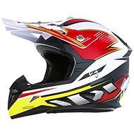 ZED X1.9D, detská (biela/čierna/červená/žltá, veľ. S) - Prilba na motorku