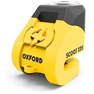 OXFORD Disková brzda Scoot XD5, (žltá/čierna, priemer 6 mm) - Zámok na motorku