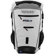 OXFORD vodotesný batoh Aqua25R, (biela/sivá), objem 25 l - Moto batoh