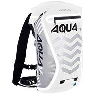 OXFORD vodotesný batoh Aqua V20 Extreme Visibility, (biela/sivá/reflexné prvky), objem 20 l - Moto batoh