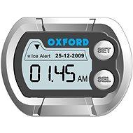 OXFORD hodiny a teploměr na motocykl voděodolné, (stříbrná) - Príslušenstvo