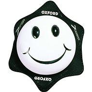 OXFORD slidery Smiley,  (biele, pár) - Slidery na kolená
