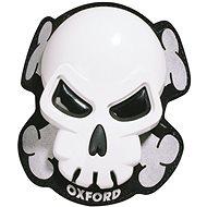 OXFORD slidery Skull (biele, pár) - Slidery na kolená