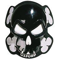 OXFORD slidery Skull (čierne, pár) - Slidery na kolená