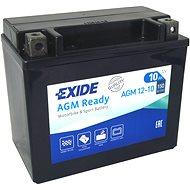 EXIDE BIKE Factory Sealed 10 Ah, 12 V, AGM12-10 (YTX12-BS) - Motobatéria