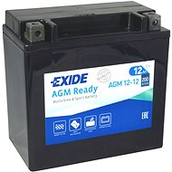 EXIDE BIKE Factory Sealed 12 Ah, 12 V, AGM12-12 (YTX14-BS) - Motobatéria