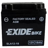 EXIDE BIKE Factory Sealed 18 Ah, 12 V, AGM12-18 (GARDEN) - Motobatéria