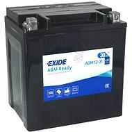 EXIDE BIKE Factory Sealed 30 Ah, 12 V, AGM12-31 (YIX30L-BS) - Motobatéria