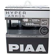 Autožárovky PIAA Hyper Arros 3900K H7 – o 120 percent vyššia svietivosť, zvýšený jas