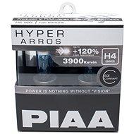 Autožiarovky PIAA Hyper Arros 3900 K H4 – o 120 percent vyššia svietivosť, zvýšený jas - Autožiarovka