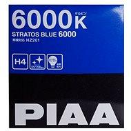 PIAA Stratos Blue 6000K H4 Žiarovka - studené biele svetlo s Xenónovým efektom - Autožiarovka