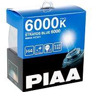 PIAA Stratos Blue 6000 K H4 – studené biele svetlo s xenónovým efektom