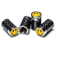 Čepičky ventilků s tělem z pravého carbonu, 4ks - Príslušenstvo