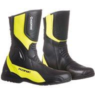 KORE Sport Touring čierne/žlté 45 - Topánky na motorku