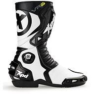 XPD VR6 (čierne/biele, veľkosť 45) - Topánky na motorku