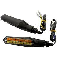 M-Style Flow Duo LED smerovky predný pár - Smerovky na motorku