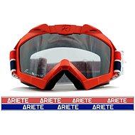 ARIETE ADRENALINE PRIMIS PLUS červené off-road moto okuliare - Okuliare