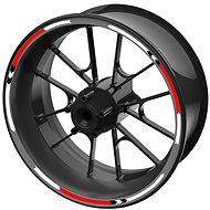M-Style sada farebných prúžkov EASY na bicykle červená - Polepy na bicykel