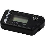 M-Style bezdrôtový vibračný automatický merač motohodiny - Merač