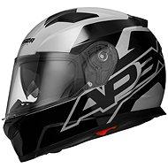 CASSIDA Apex Contrast (sivá/čierna) - Prilba na motorku
