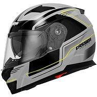 CASSIDA Apex Fusion (sivá/čierna/žltá fluorescenčná) - Prilba na motorku