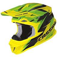 CASSIDA Cross Pro (zelená/žltá fluo/čierna) - Prilba na motorku