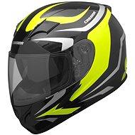 CASSIDA Integral 2.0 (čierna/sivá/žltá fluo) - Prilba na motorku