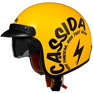 CASSIDA Oxygen Gear (žltá/čierna) - Prilba na skúter