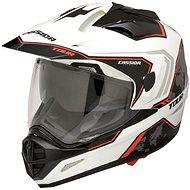 CASSIDA Tour Globe (čierna/biela/červená) - Prilba na motorku