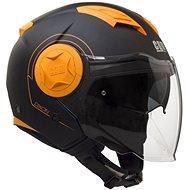 CGM Dixon – oranžová - Prilba na skúter