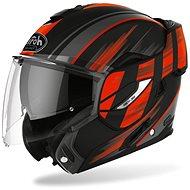 AIROH REV19 IKON čierna/oranžová matná - Prilba na motorku