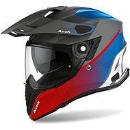 AIROH COMMANDER PROGRESS červená/modrá matná - Prilba na motorku