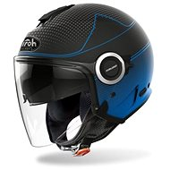 AIROH HELIOS MAP čierna/modrá matná - Prilba na motorku