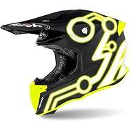 AIROH TWIST NEON čierna/žltá - Prilba na motorku