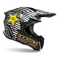 AIROH TWIST ROCKSTAR 2020 čierna/biela - Prilba na motorku