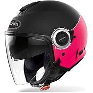 AIROH HELIOS MAP čierna/ružová matná - Prilba na motorku