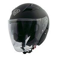 Yohe 878-1, Matte Black - Prilba na motorku