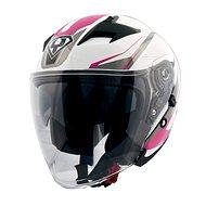 Yohe 878-1M Graphic, Pink - Prilba na motorku