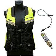 Hit-Air MLV Airbag Vesta reflexná žlto-čierna limitovaná Racevest edícia - Airbagová vesta