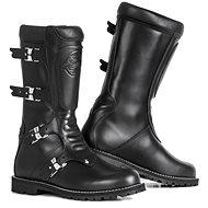 STYLMARTIN CONTINENTAL BLACK - Topánky na motorku