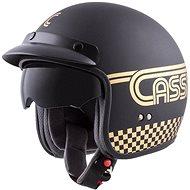 CASSIDA Oxygen Rondo, (čierna matná/zlatá) - Prilba na motorku