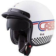CASSIDA Oxygen Rondo, (biela/modrá/červená/čierna) - Prilba na motorku