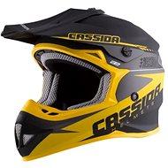 CASSIDA LIBOR PODMOL limitovaná edícia, (čierna matná/žltá/sivá) - Prilba na motorku