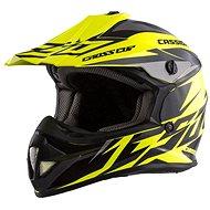 CASSIDA Cross Cup Two Kids, (žltá fluo/čierna/sivá) - Prilba na motorku