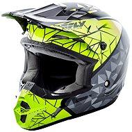 FLY RACING Kinetic CRUX (Hi-Viz/sivá/čierna, veľ. M) - Prilba na motorku