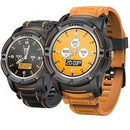 myPhone Hammer Watch oranžovo-čierne - Smart hodinky