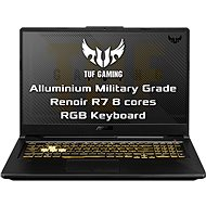 ASUS TUF Gaming FA706IU-H7015T Fortress Gray kovový - Herný notebook
